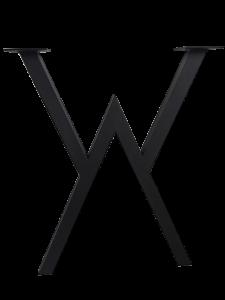 Подстолье лофт треугольное с поддержкой